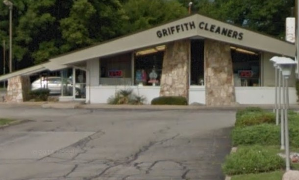 The Augusta location near 71st Street and Michigan Road now serves as a dry cleaner.
