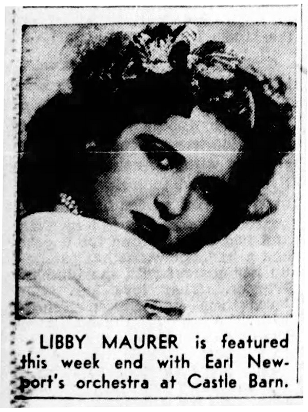 Libby Maurer, ten years later (1946 Indianapolis Star clipping courtesy of newspapers.com)