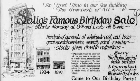 Sunday Ads: Selig's