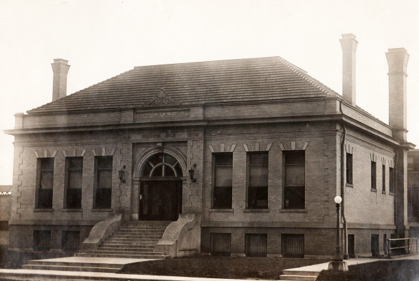 IPL Branch Library #2 was also known as the Hawthorne Branch (Lawrence J. Downey Library History Collection courtesy of the Indianapolis Public Library)