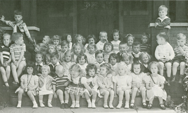 Church School Beginners in 1948 (photo courtesy of Trinity Episcopal Church)