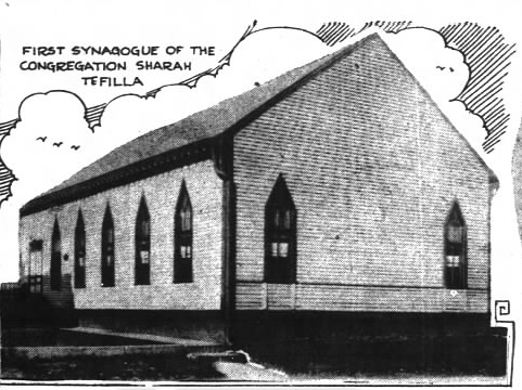 The congregation's first permanent home was in the 700 block of South Meridian