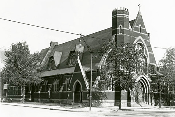 Saint Margaret's Hospital Guild was founded in 1908 by women who attended Saint Paul's Episcopal Church (Wm. H. Bass Photo Company Collection courtesy of Indiana Historical Society)