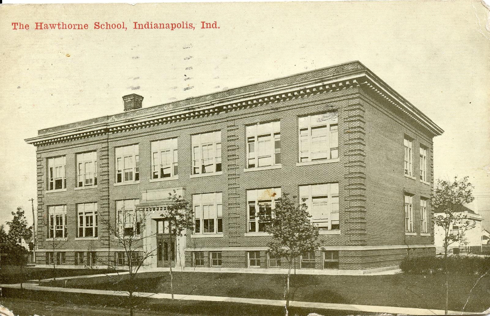 Then & Now: Hawthorne School-  75 North Belleview Place