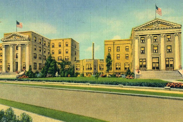 Postcard of Marion County General Hospital