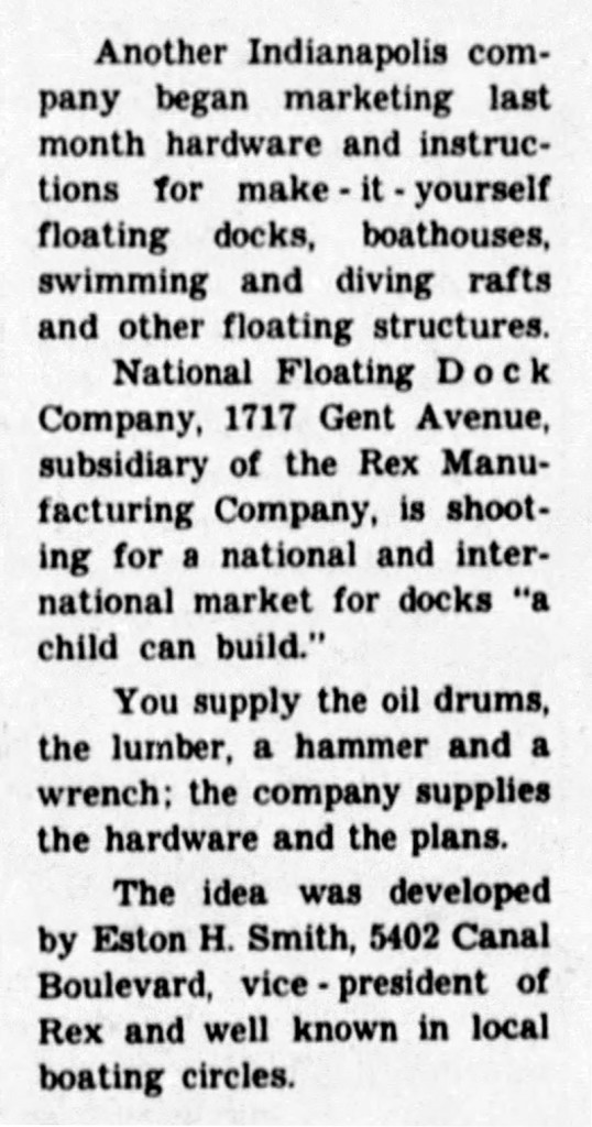 May 31, 1959 article in The Indianapolis Star
