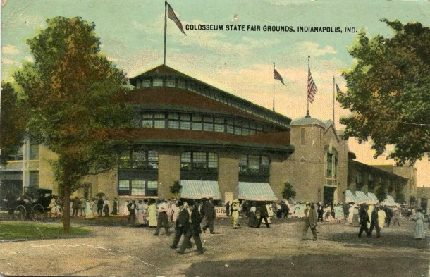 fairgrounds coliseum 1916