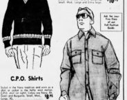 This Sunday ad from 1966 goes after the back to school crowd. Who wouldn't want to dress to impress for the new semester?(Courtesy Indiana State Library)