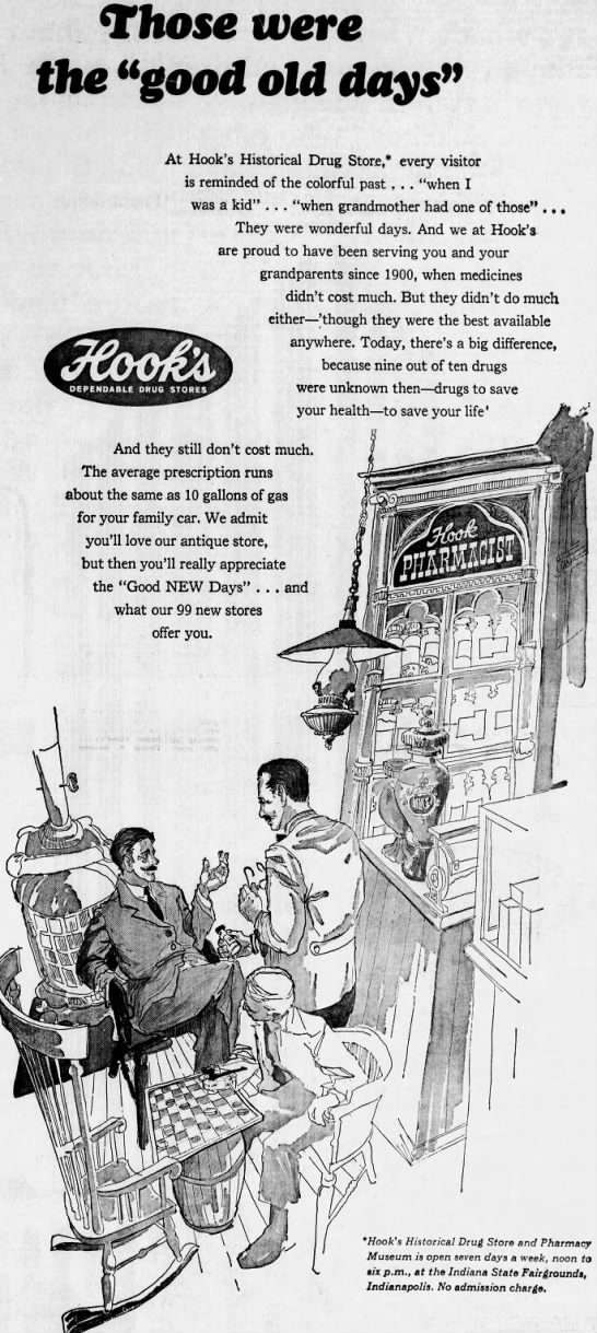 This ad from 1966 invites nostalgia seekers to the Historic Hook's museum at the state fairgrounds