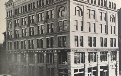Then & Now: Schrader Building, 101 S. Pennsylvania Street