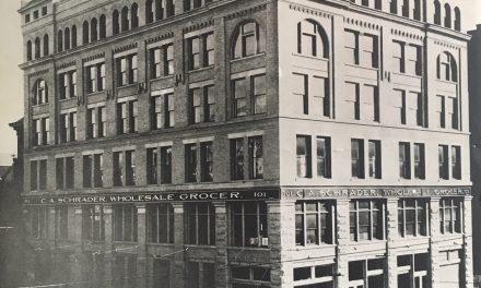 Then & Now: Schrader Building, 101 S. Pennsylvania Street