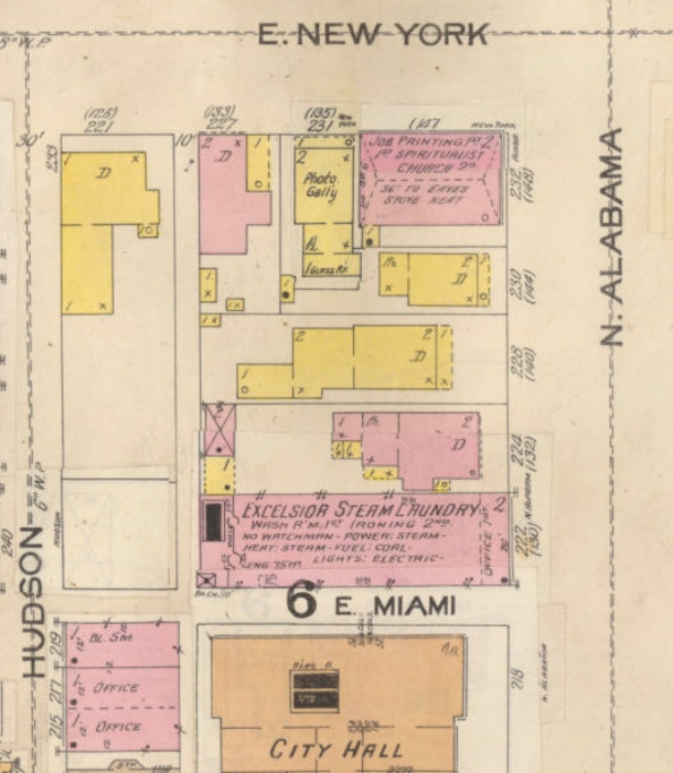 Apartments Near Iupui: Then & Now: Laundering Behind Old City Hall