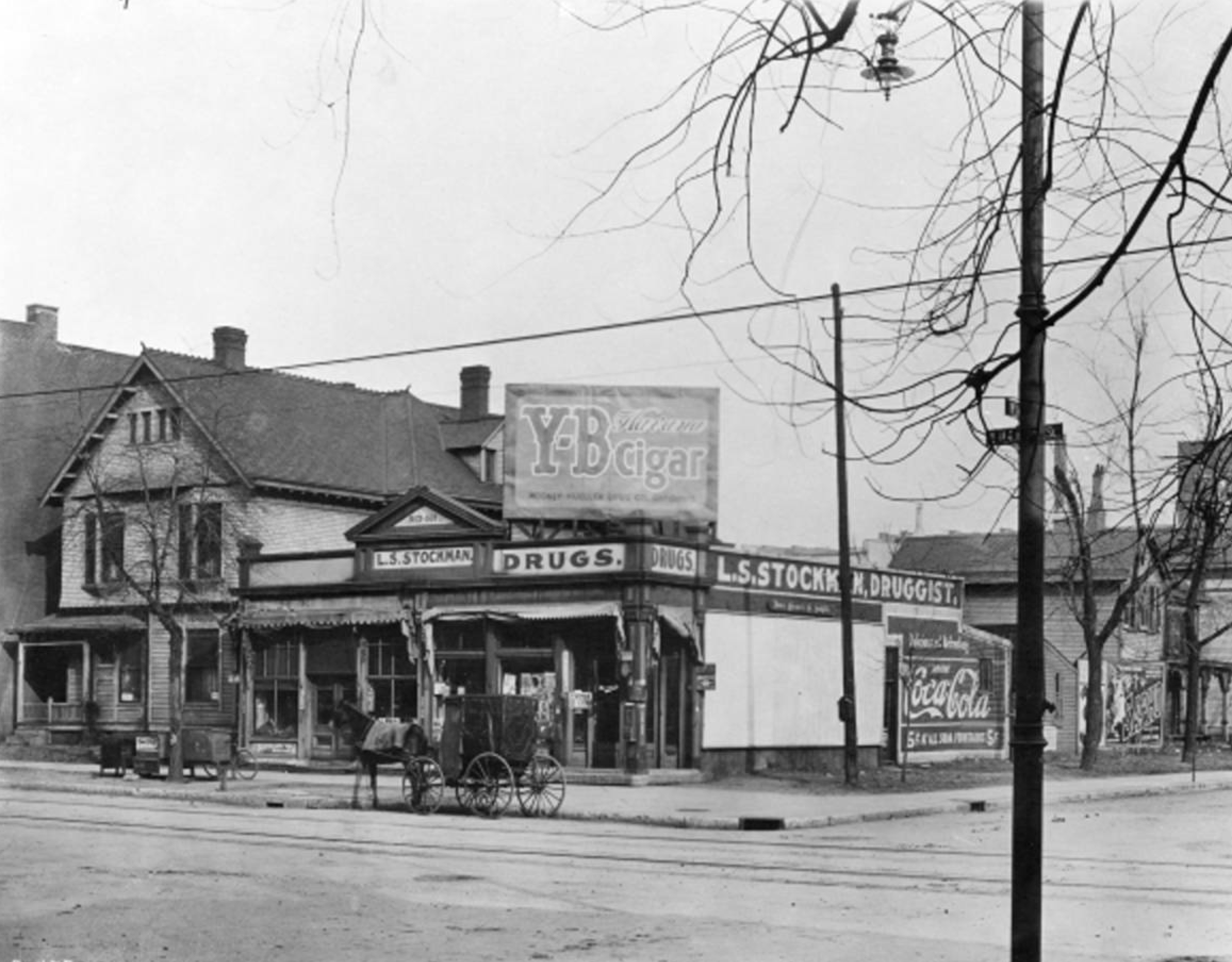L.S. Stockman Drug Store, 501 N. Illinois Street