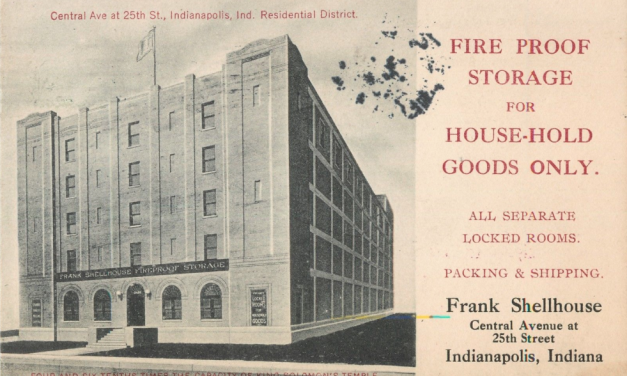 Then & Now: Shellhouse Building, 2455 N. Central