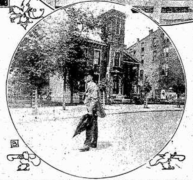 William E English and the family mansion