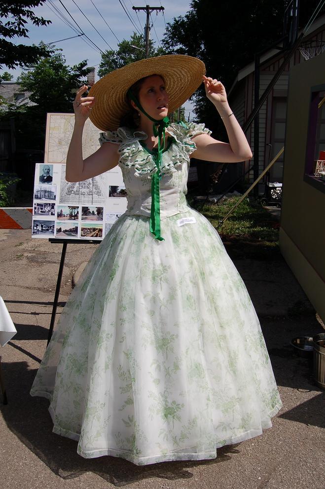 TBB civil war dress