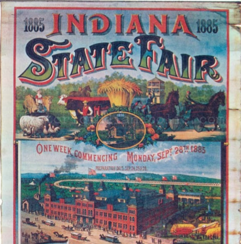 State Fair 1885 Poster