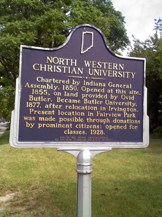 Where Butler University was born...