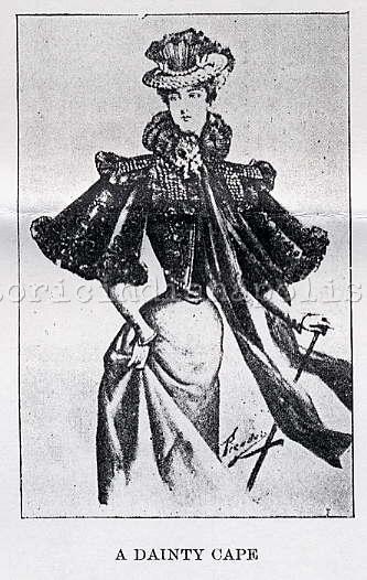 Ladies Lounge: Indianapolis Fashion Spring 1897
