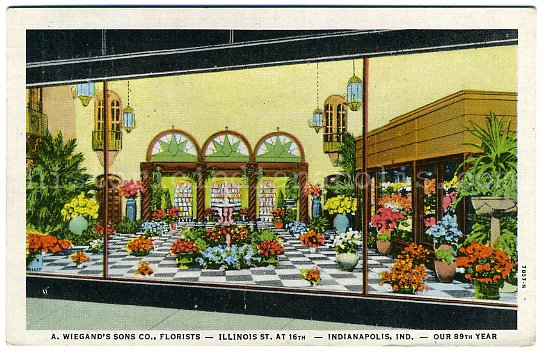 Weigand's Florist Shop, 16th & Illinois