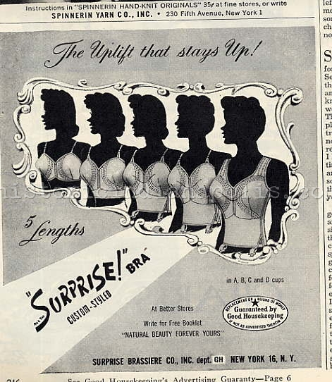 Ladies Lounge: Invention of the Brassiere