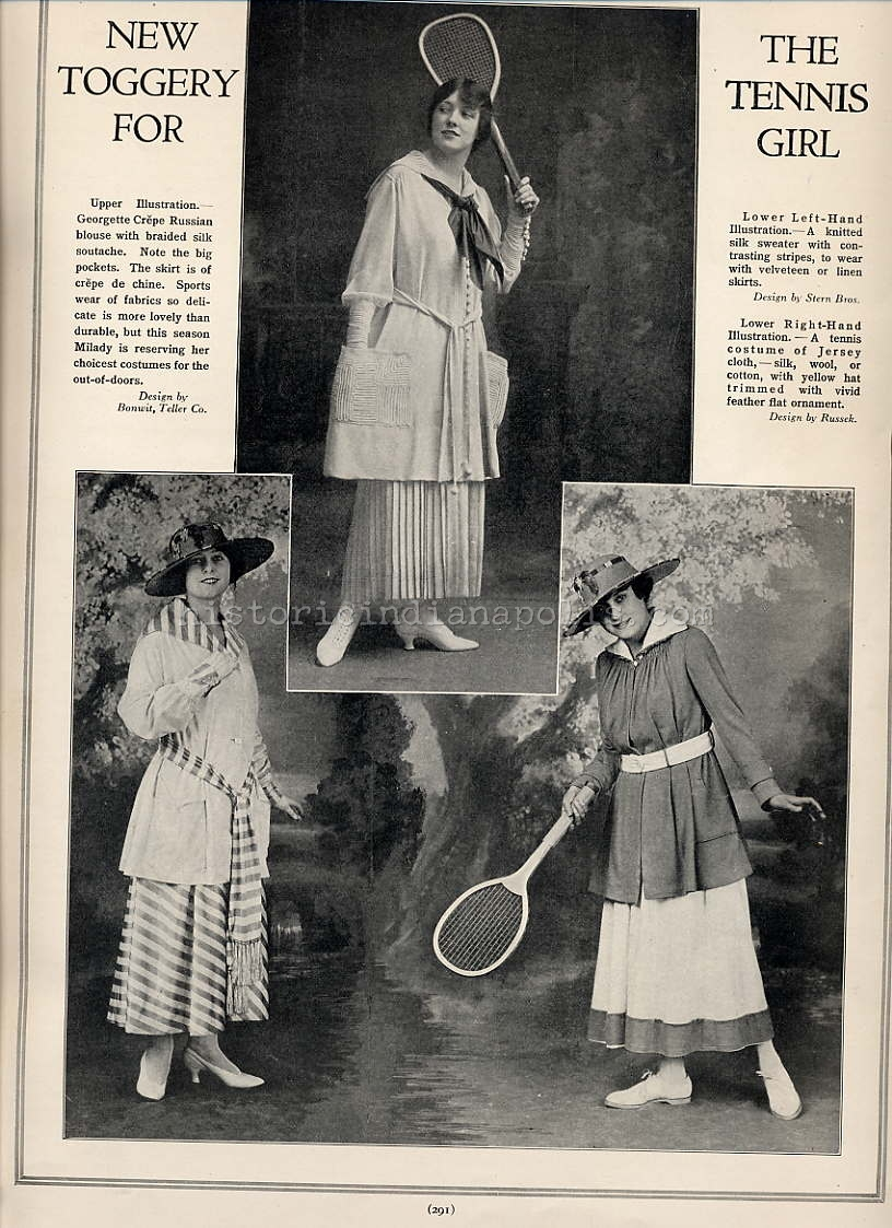 Ladies Lounge: Anyone For Tennis?