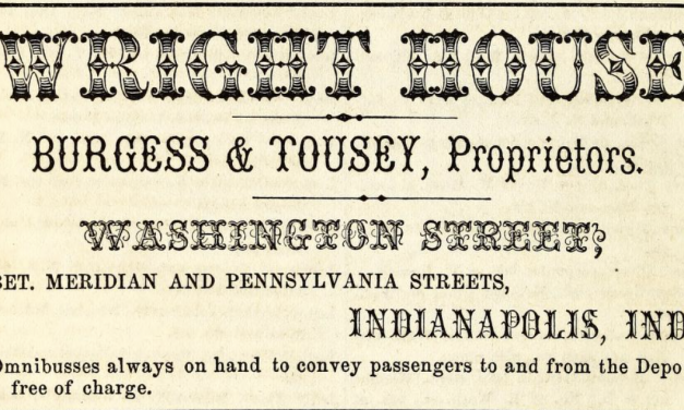 An Englishman's Stay in Indianapolis, 1851