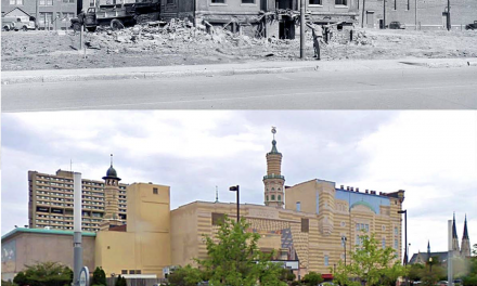 Then and Now: 500 Block of Alabama Street