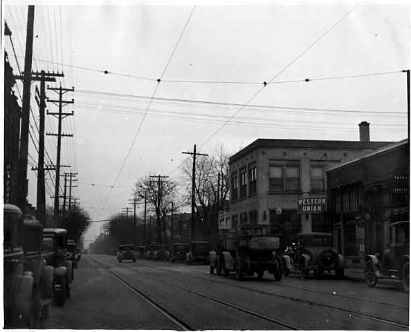 Illinois, 3000 block, N from 30th, 1927