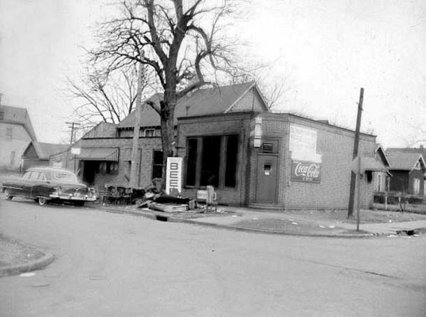 Dorman Street Saloon 1956 exterior