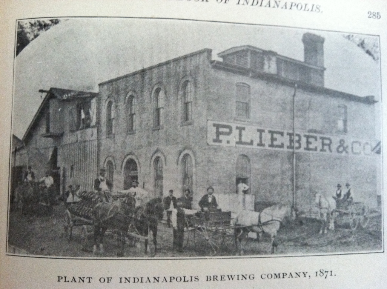 Sunday Adverts: Indianapolis Brewing Company/ P. Lieber Brewing Company