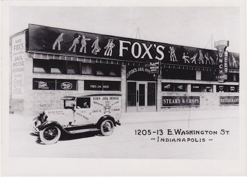 Then and Now: Fox's Jail House Restaurant, 1205-13 E. Washington Street