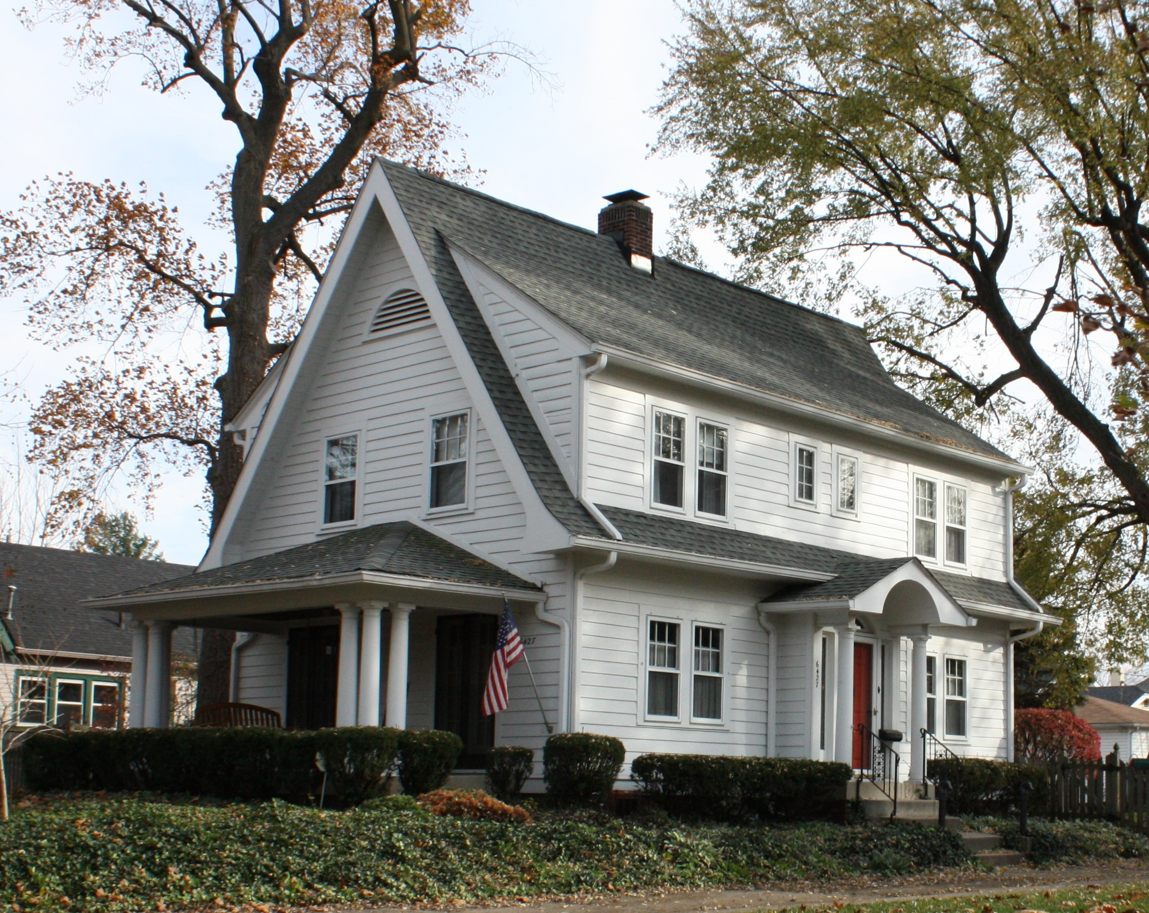 Building Language Colonial Revival Historic Indianapolis All Things Indianapolis History