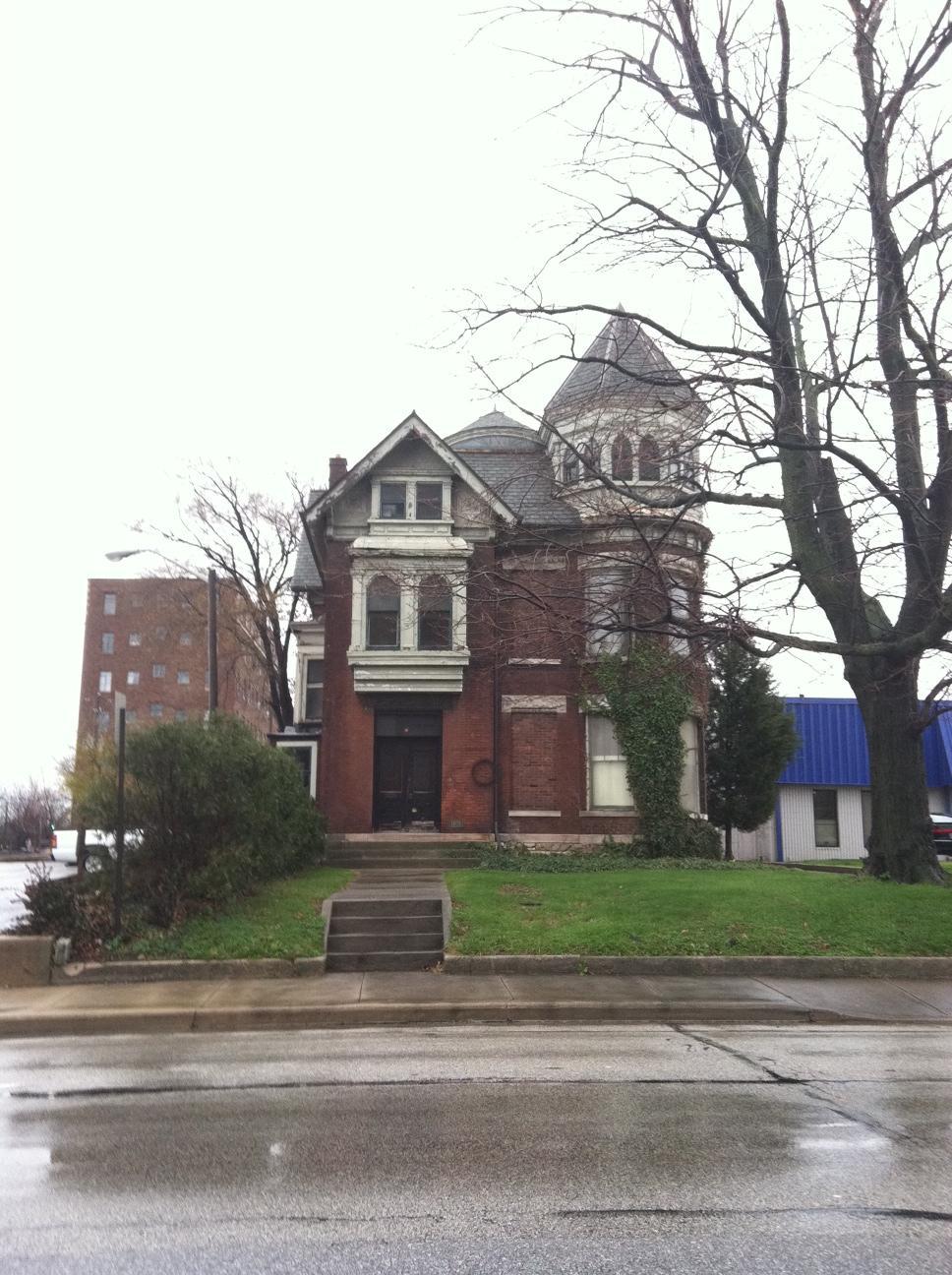 Sunday Prayers: Calvin Fletcher Jr. House on Penn