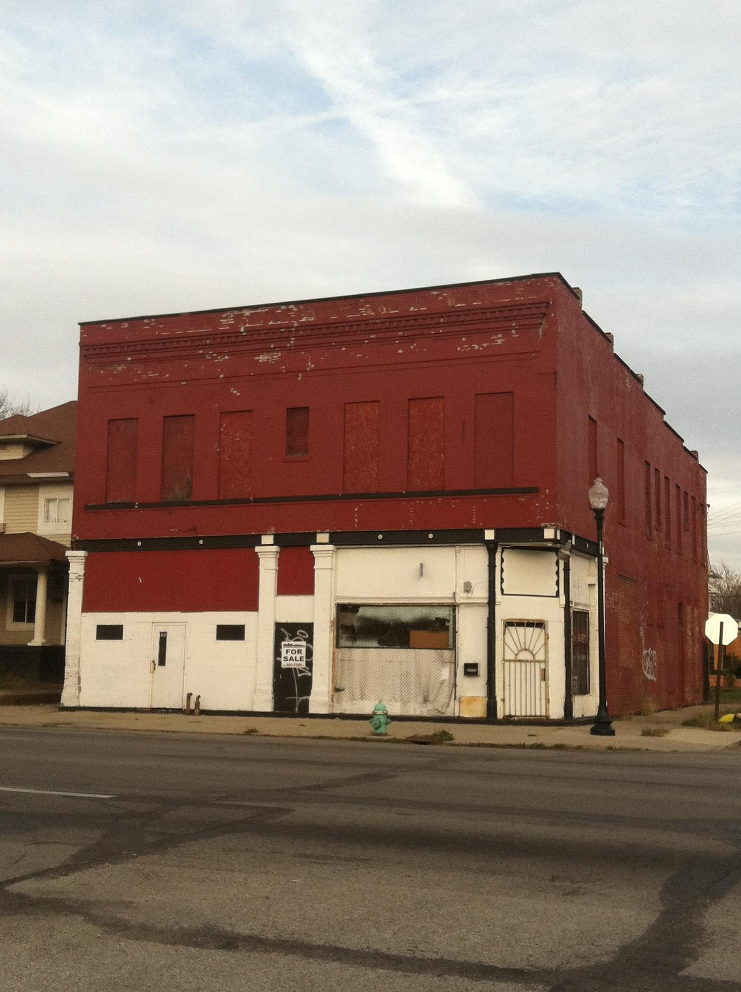 Sunday Prayers: Corner Buildings on College Avenue