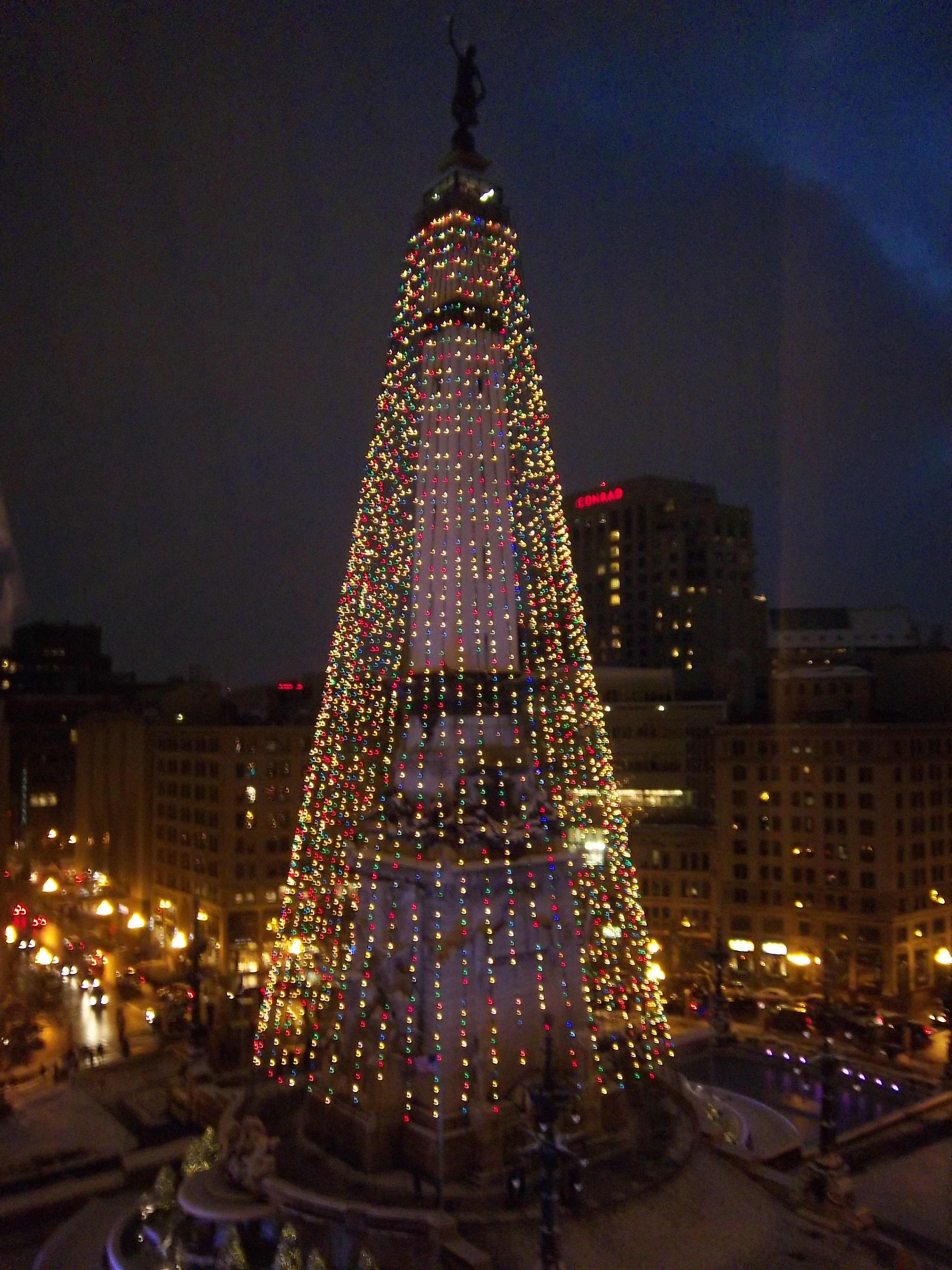 Room With a View: Columbia Club, Night Before Christmas…