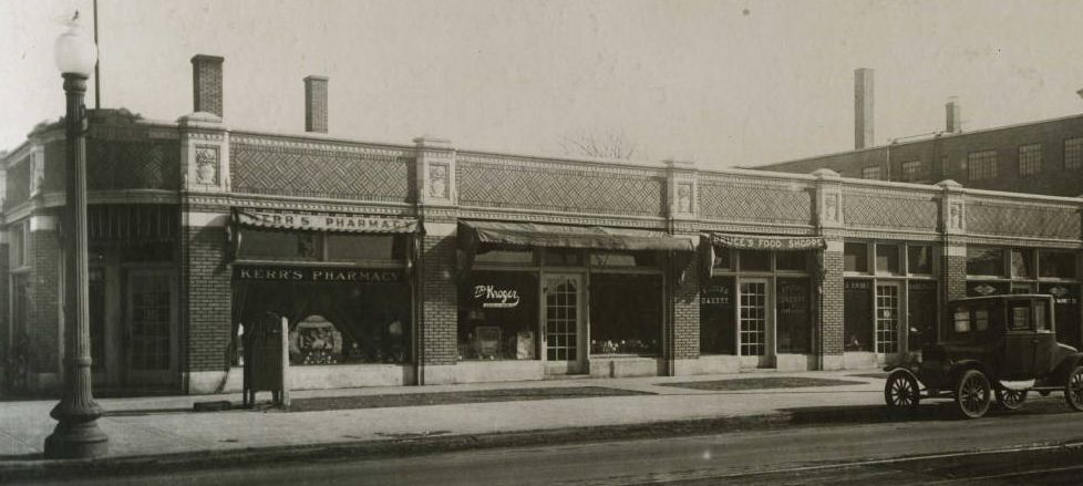 Then and Now: College Avenue and 54th Street