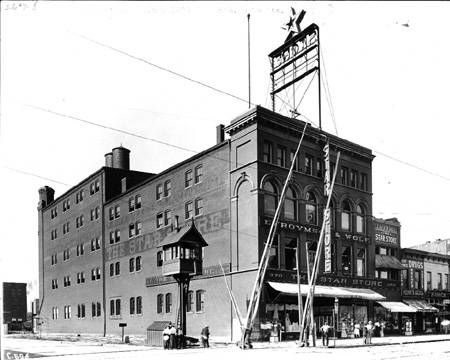 Then and Now: The Star Store and Indiana Government Center South, 360-70 West Washington Street