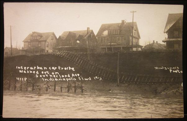 Indianapolis Collected: Postcards from the Great Flood of 1913