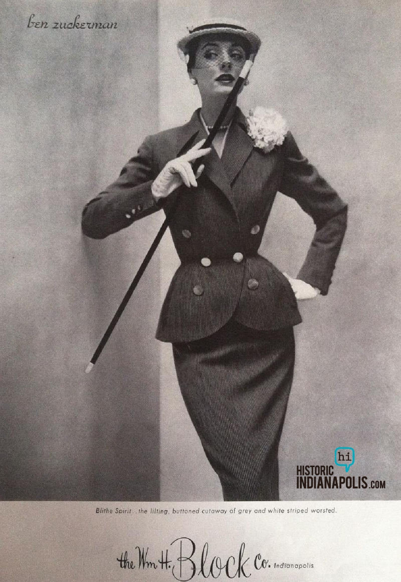 LADIES LOUNGE: WM H BLOCK CO SUIT