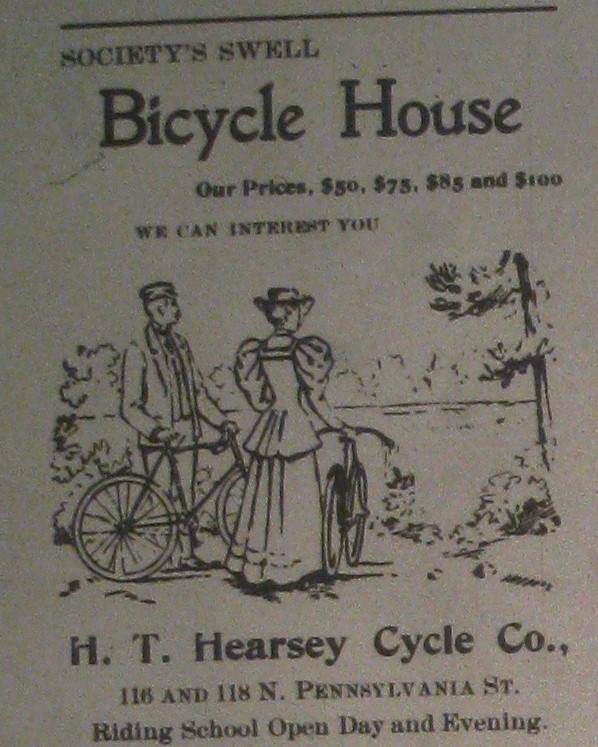 Sunday Adverts: Bicycling Schools of Indianapolis