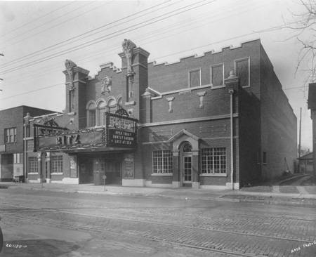 Indianapolis Then and Now:  Ritz Theatre 3430 N. Illinois Street