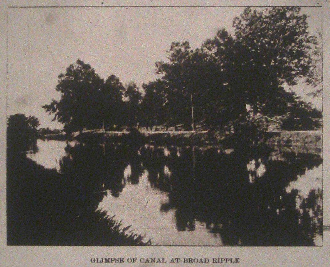 Sunday Ad That's Not an Ad: Broad Ripple, 1896