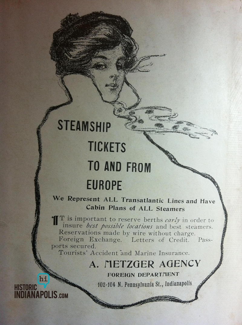 Sunday Adverts: Travel, Late 19th & Early 20th Centuries