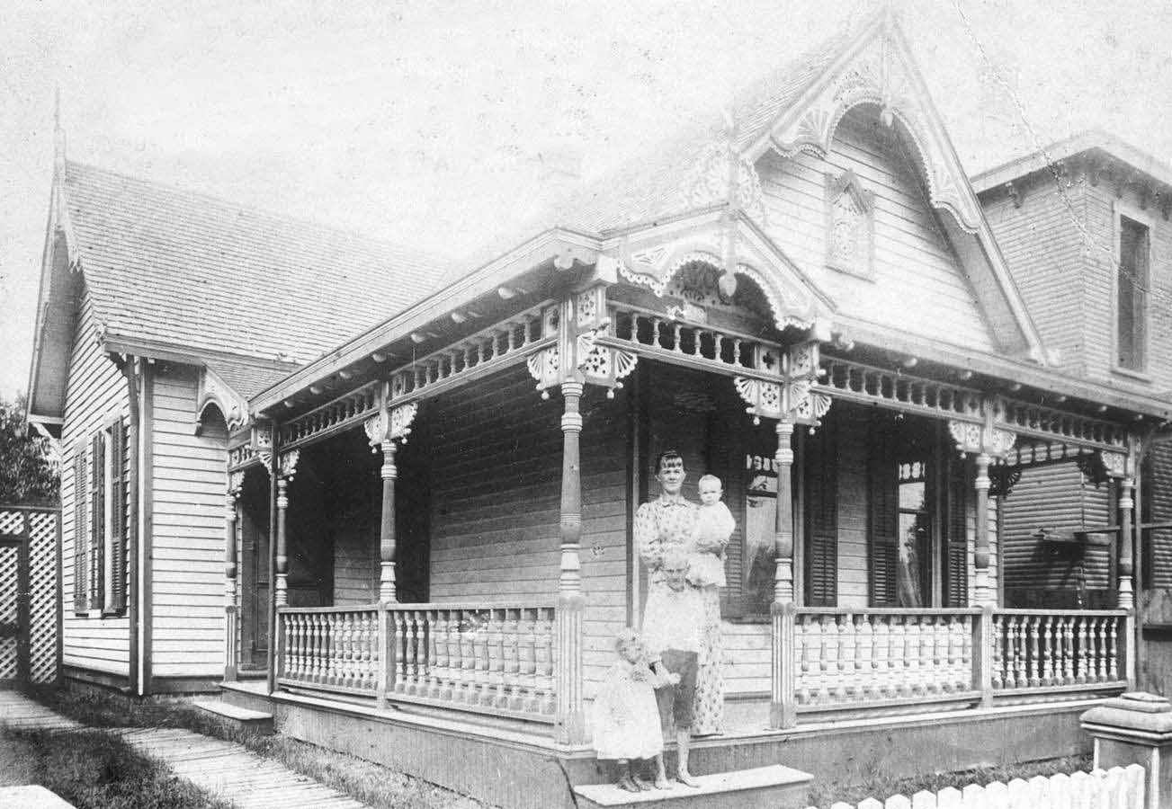 Indianapolis Then & Now:  Von Spreckelsen Cottage/Cottage Home Community Space 722 N. Highland Avenue