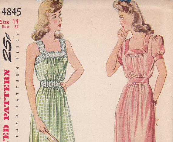 Ladies Lounge: Pajamas of yesteryear