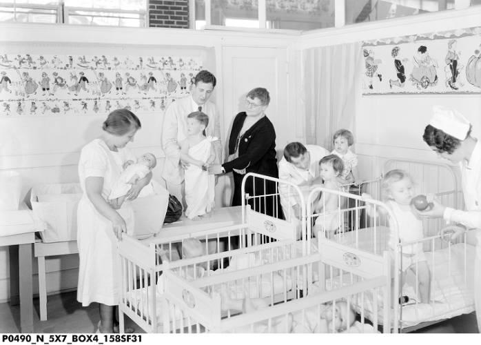 Better Babies Contest Building Day Nursery 9 1931 Ihs Jc Allen