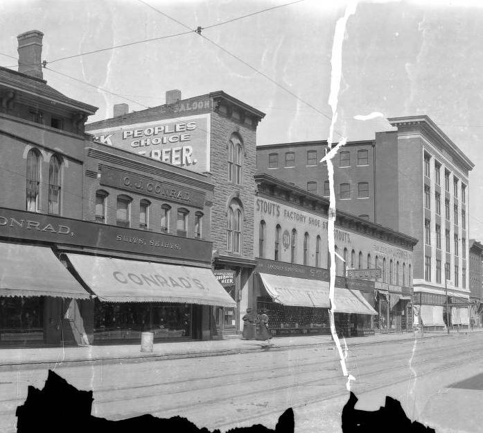 Then & Now: 300 Block of Massachusetts Avenue
