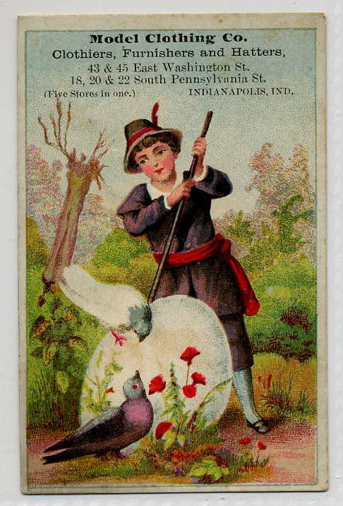 Sunday Adverts: Model Clothing Company Trade Card