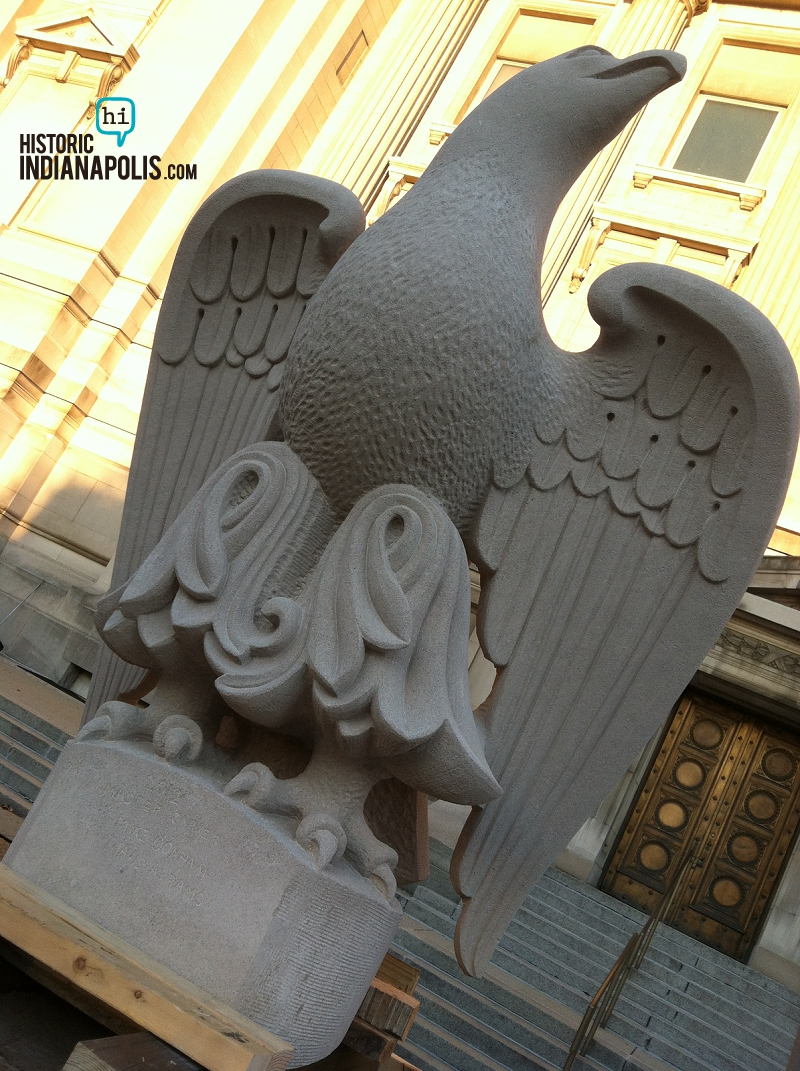 The Eagle Has Landed. Old City Hall
